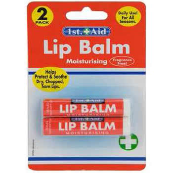 Blue Banana Moisturising Lip Balm (Twin Pack)