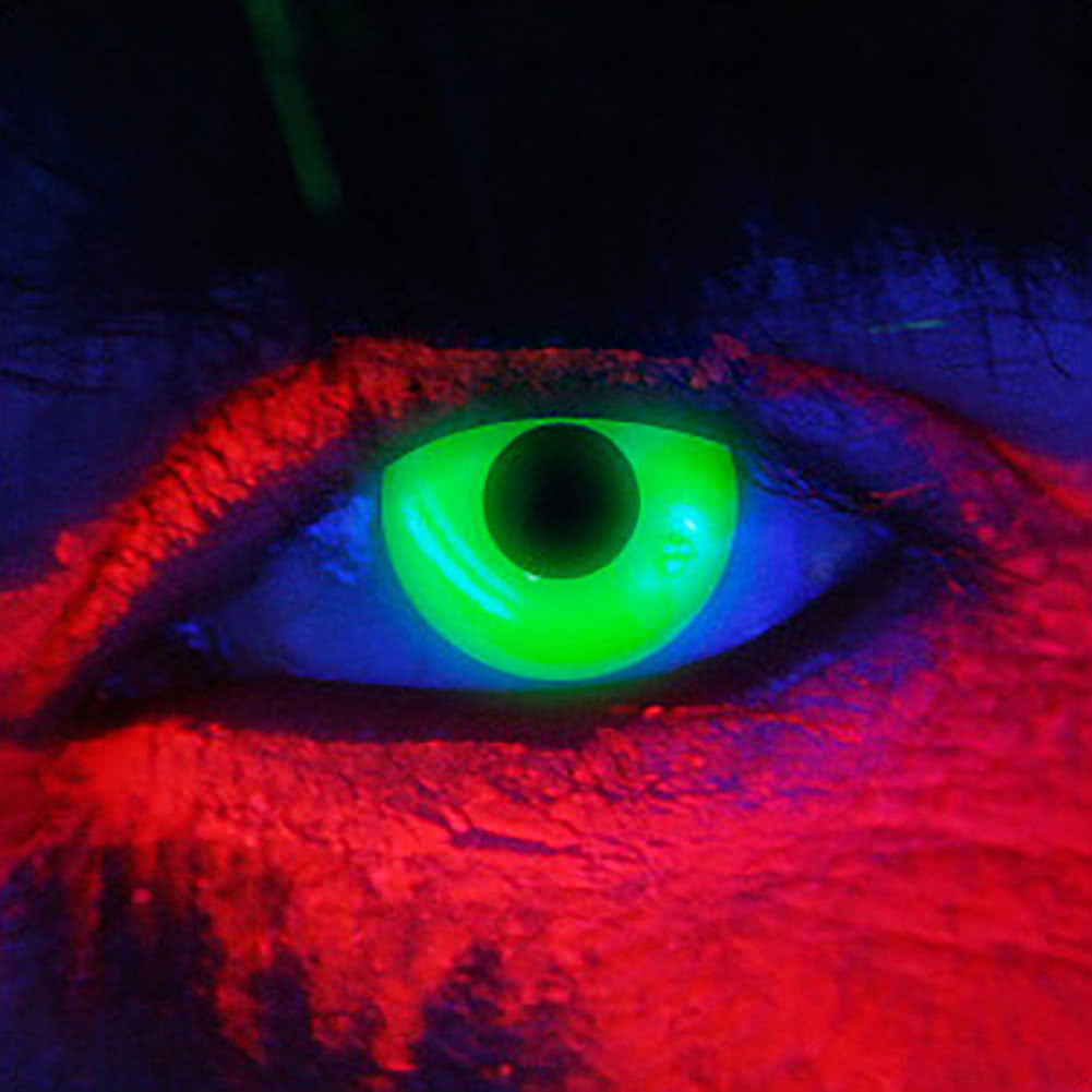 EDIT 90 Day UV Coloured Contact Lenses (i-Glow Green)