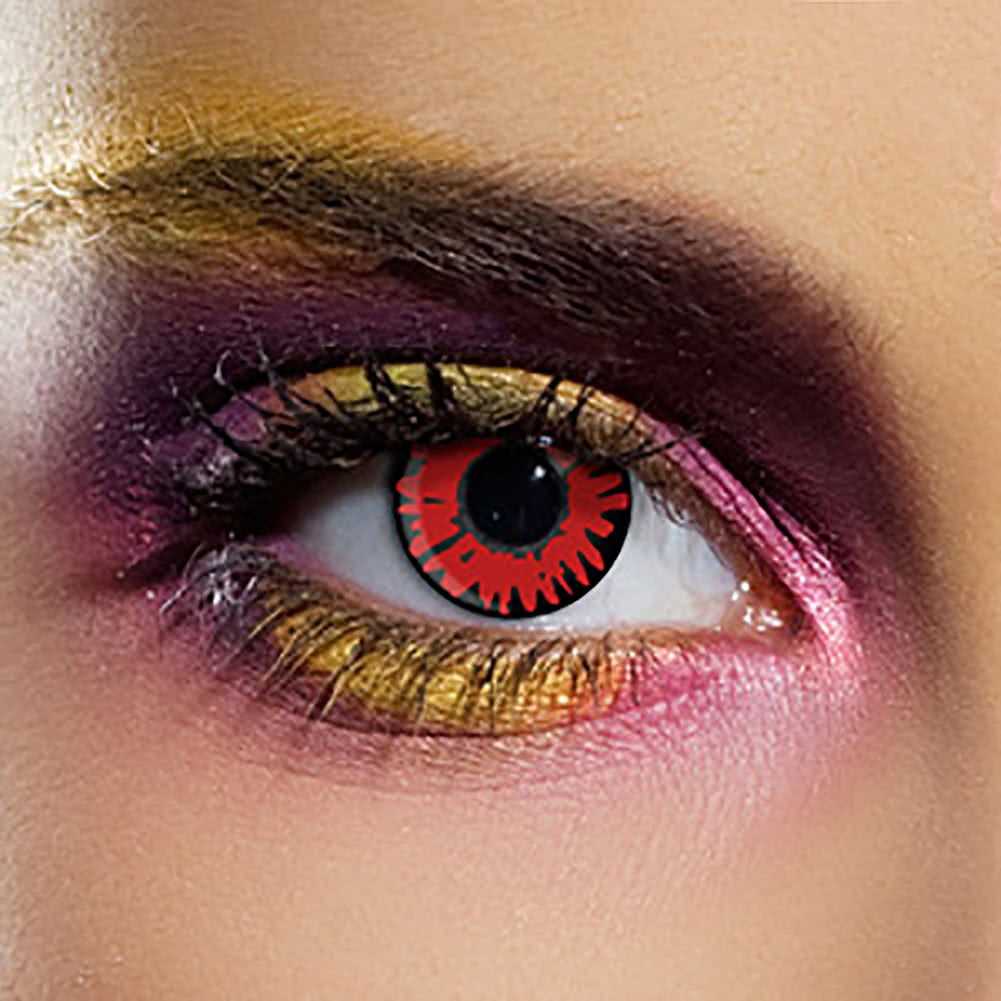 EDIT 90 Day Coloured Contact Lenses (Twilight Volturi)