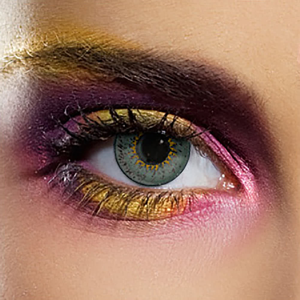 EDIT 90 Day Coloured Contact Lenses (Tri Tone Grey)