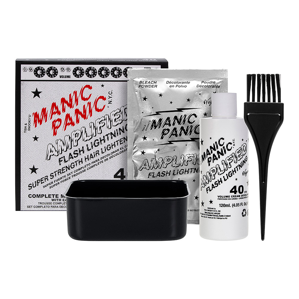 Manic Panic Amplified Hair Bleach Flash Lightning Kit