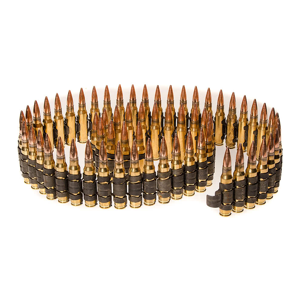 Full Bullet Belt  Real Brass Bullets