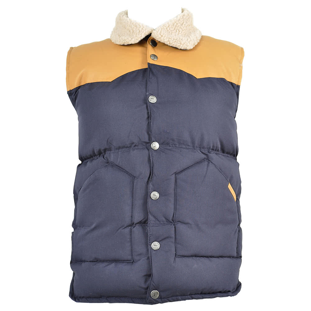 Criminal Damage Musket Gilet (Navy)