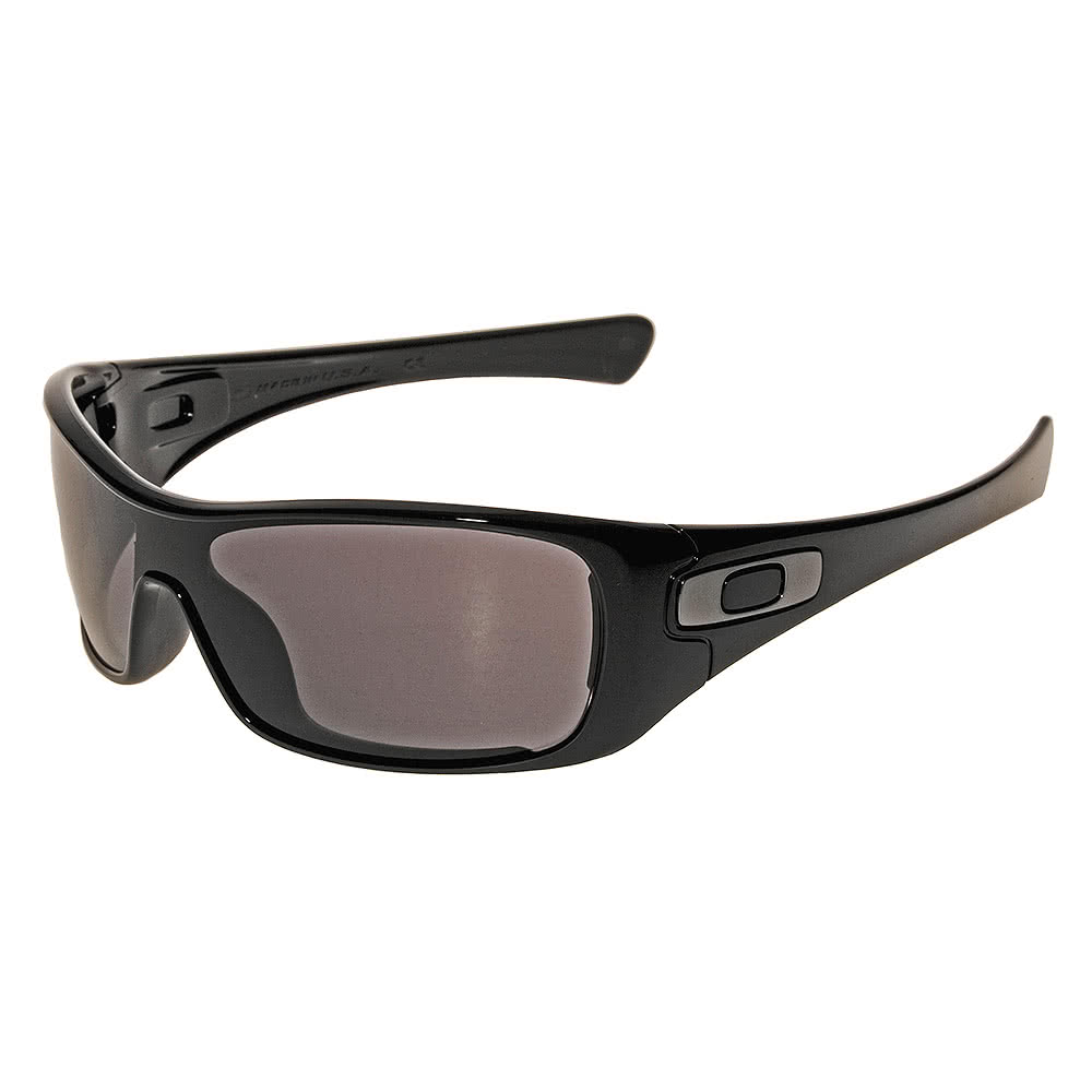 Oakley Antix Sunglasses (Polished Black/ Warm Grey)