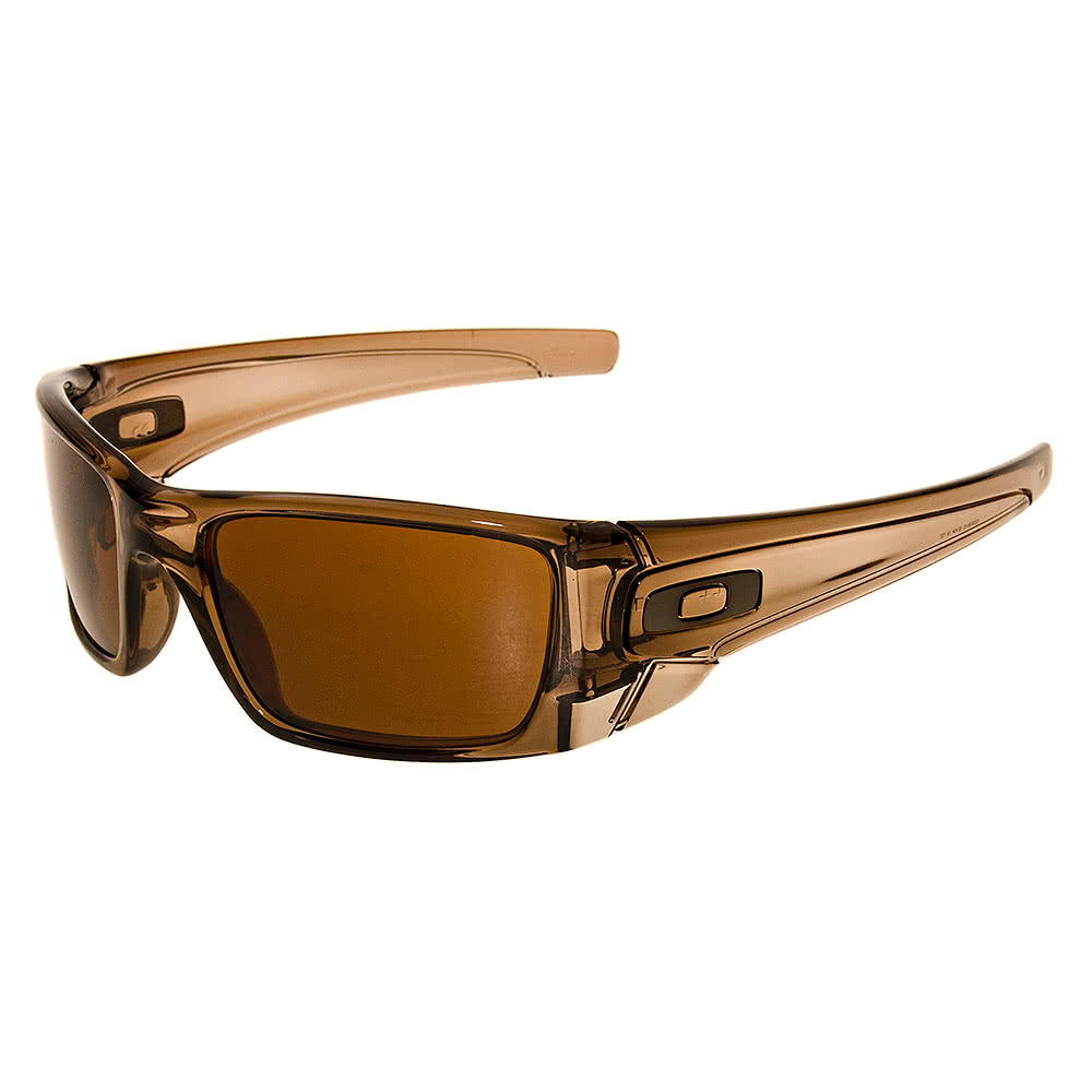 Oakley Fuel Cell Sunglasses (Polished Brown Smoke/ Dark Bronze)