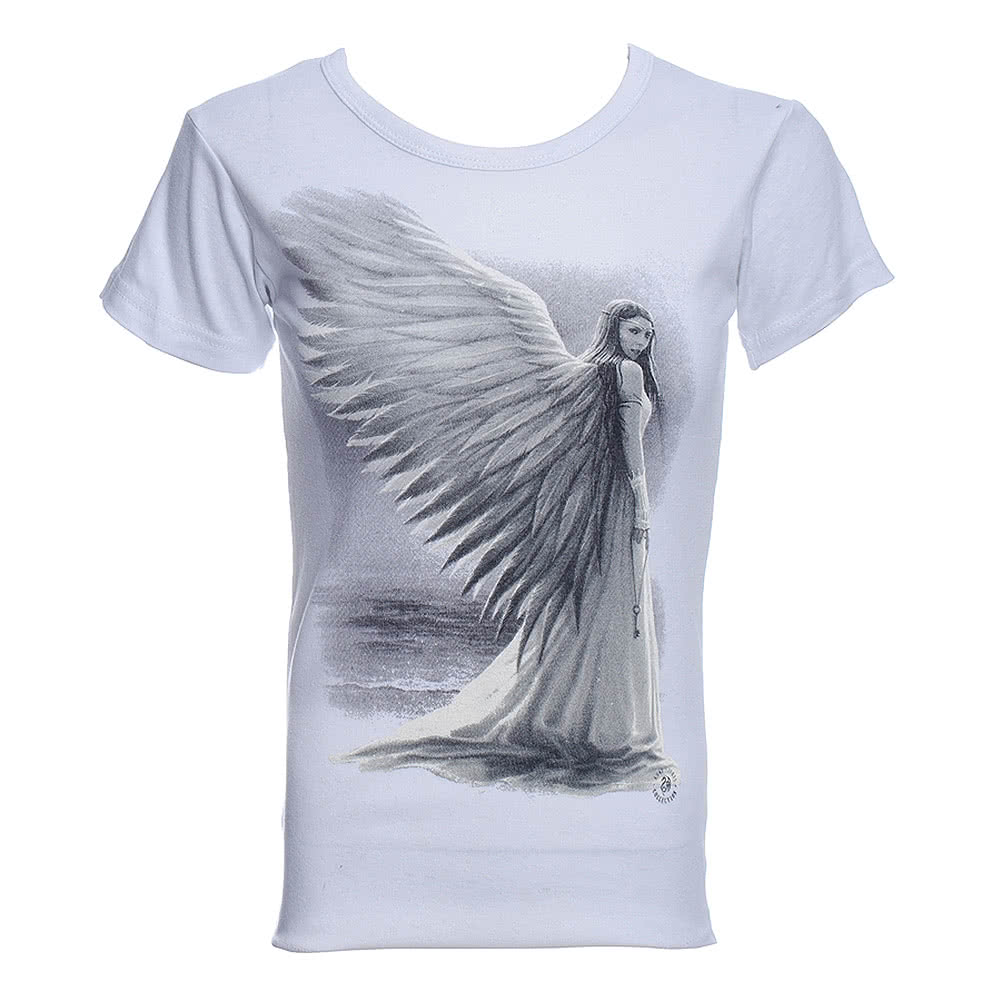 Spiral Direct Spirit Guide Skinny T Shirt (White)