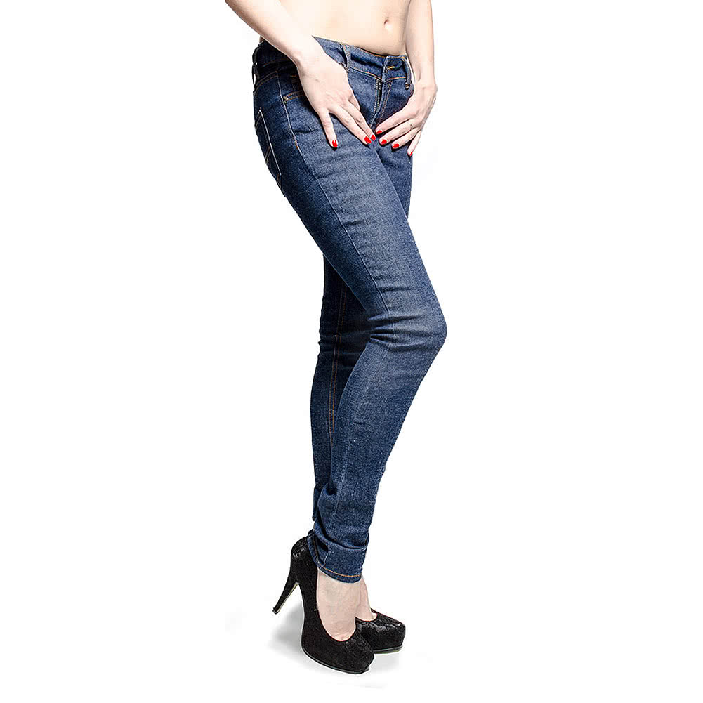 Bleeding Heart Ultra Skinny Jeans (Indigo)