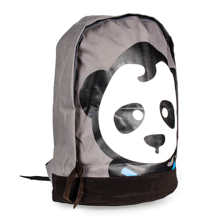Blue Banana Panda Backpack (Grey)