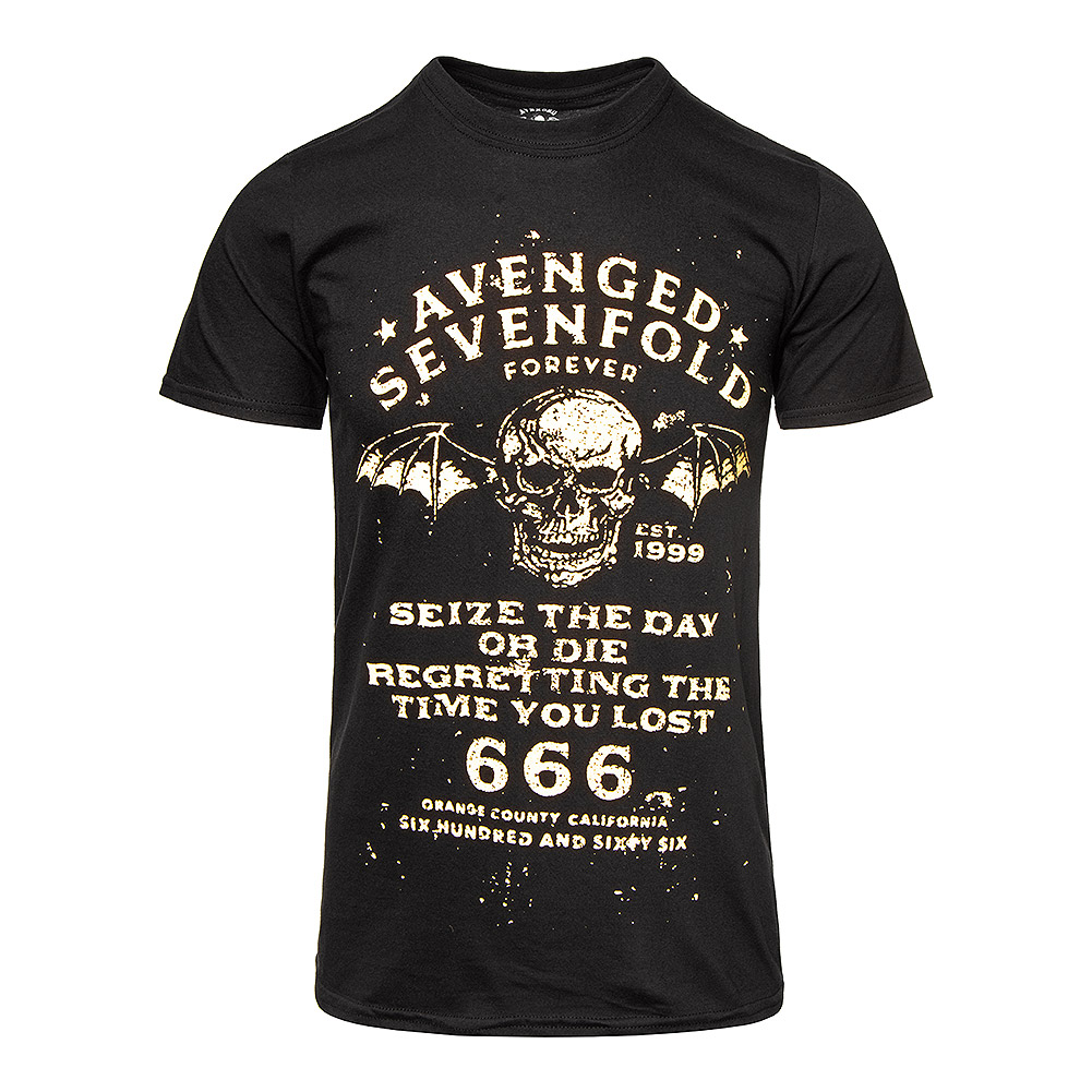Avenged Sevenfold Seize The Day T Shirt (Black)