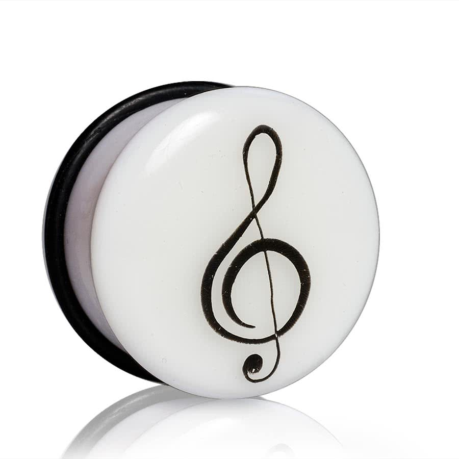 Blue Banana Glow Clef Plug 14-25mm (White)