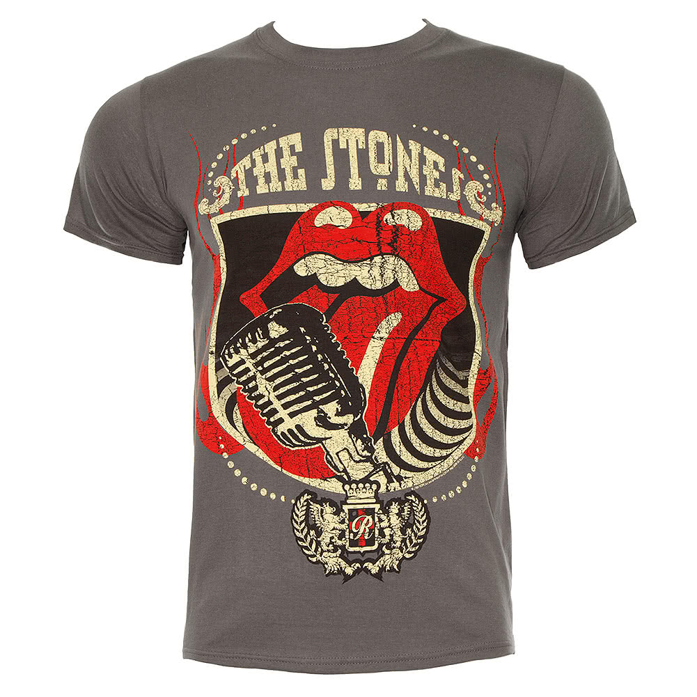 Rolling Stones 40 Licks T Shirt (Grey)