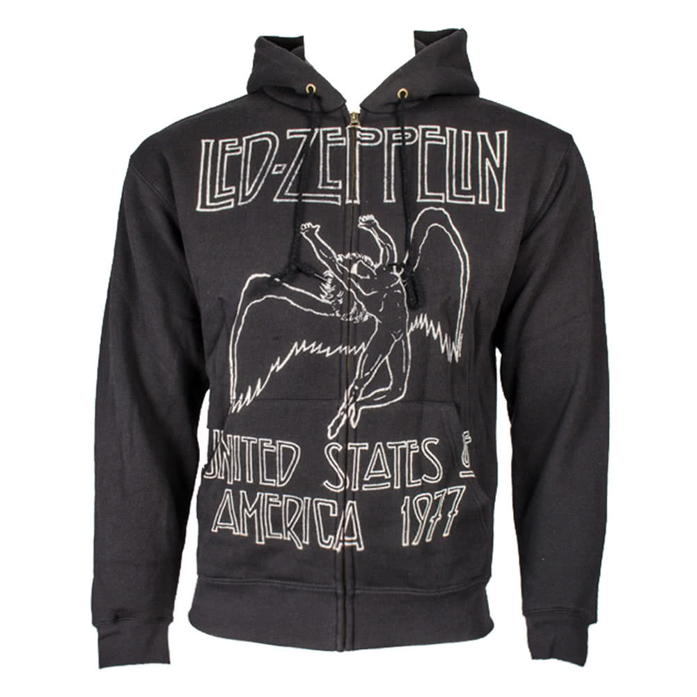 Led Zeppelin US Tour Hoodie (Black)