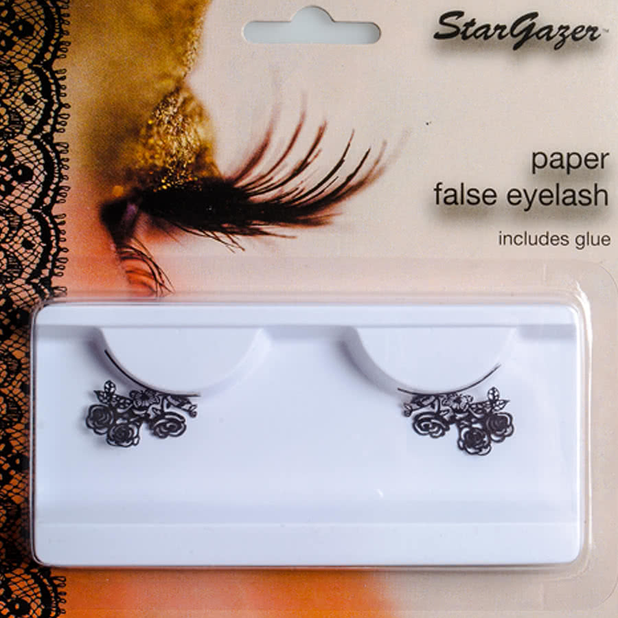 Stargazer Flowers False Eyelashes (Black)