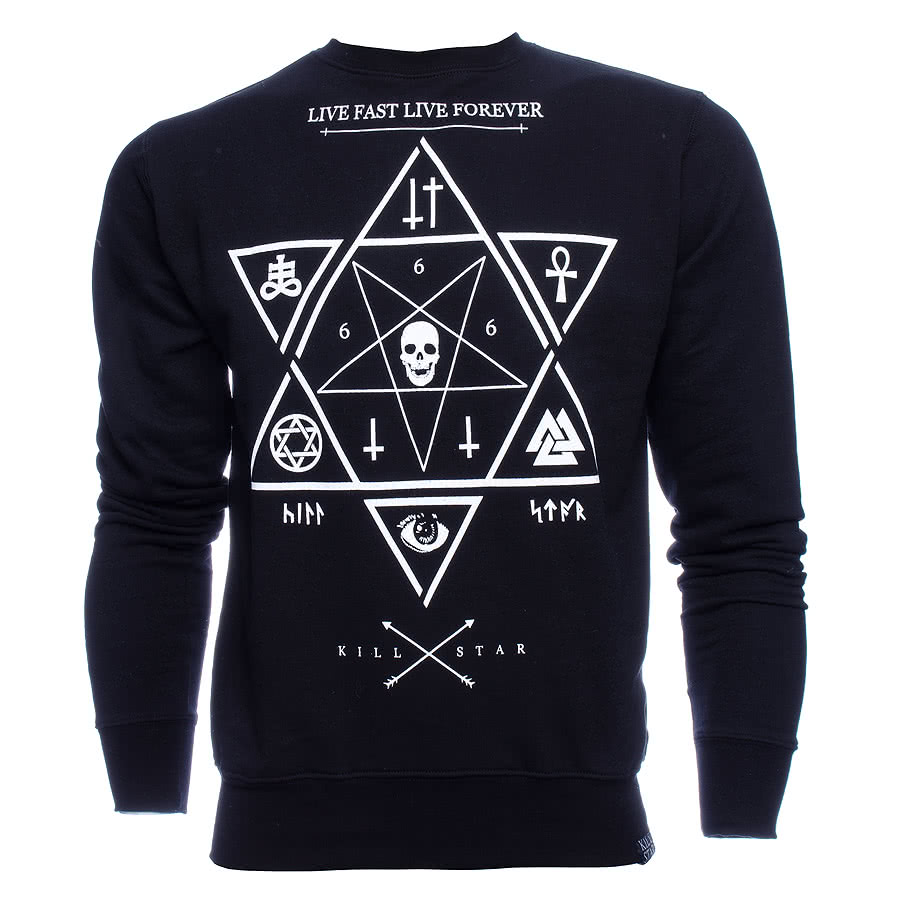 Killstar Witchcraft Sweatshirt (Black)