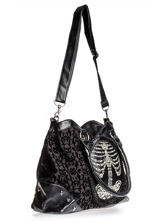 Banned Skeleton Frame Bag (Black)