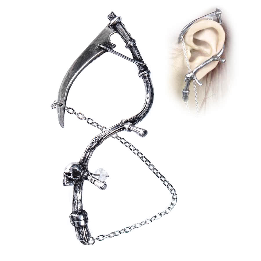Alchemy The Harvester Earring (Silver)