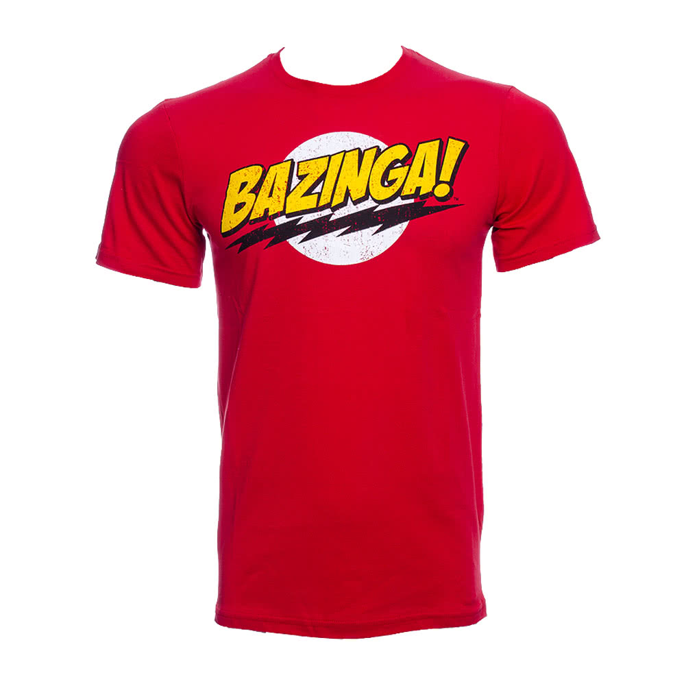 The Big Bang Theory Bazinga T Shirt (Red)