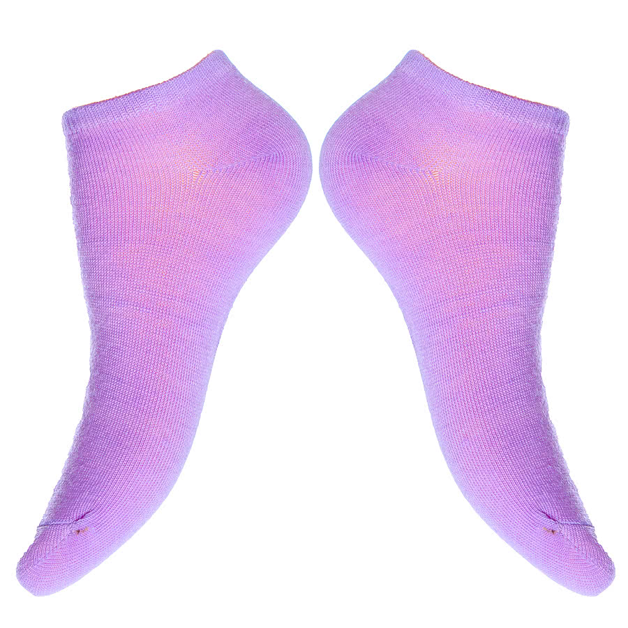 Blue Banana Trainers Socks (UV Purple)
