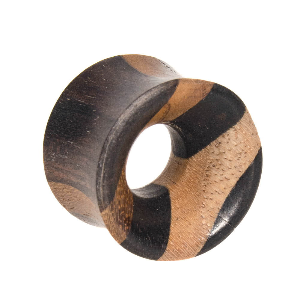 Blue Banana Teak Ebony Tunnel 8 - 16mm (Black)