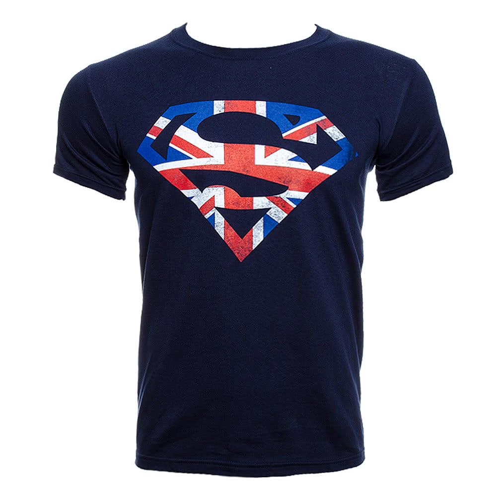 DC Comics Superman Jack T Shirt (Blue)