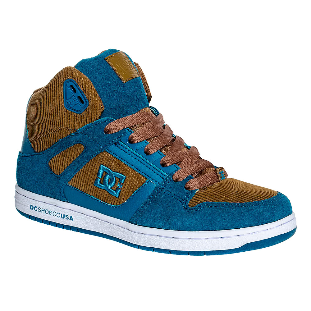 DC Shoes Rebound High LE Boots (Brown)