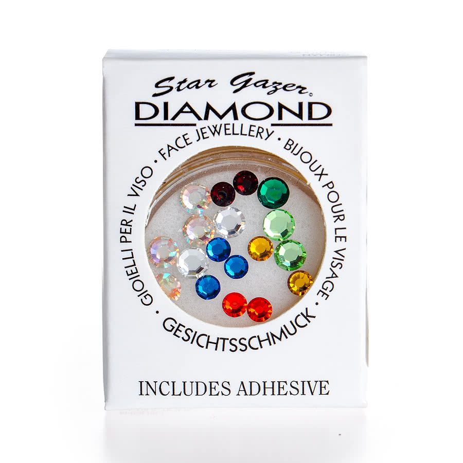 Stargazer Face Diamonds (Multi-Coloured)