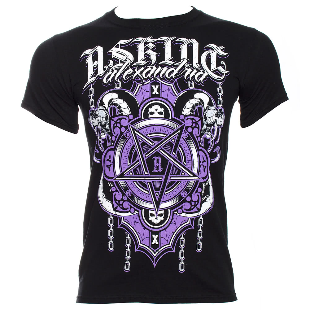 Asking Alexandria Demonic T Shirt (Black)