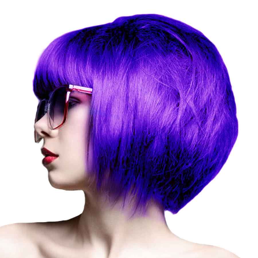 Crazy Color Semi-Permanent Hair Dye 100ml (Violette)