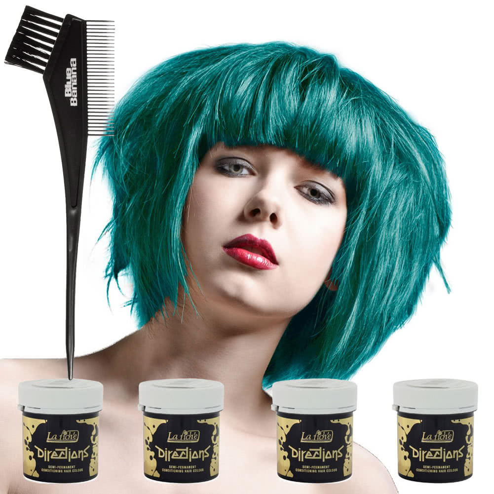La Riche Directions Hair Dye 4 Pack (Turquoise)