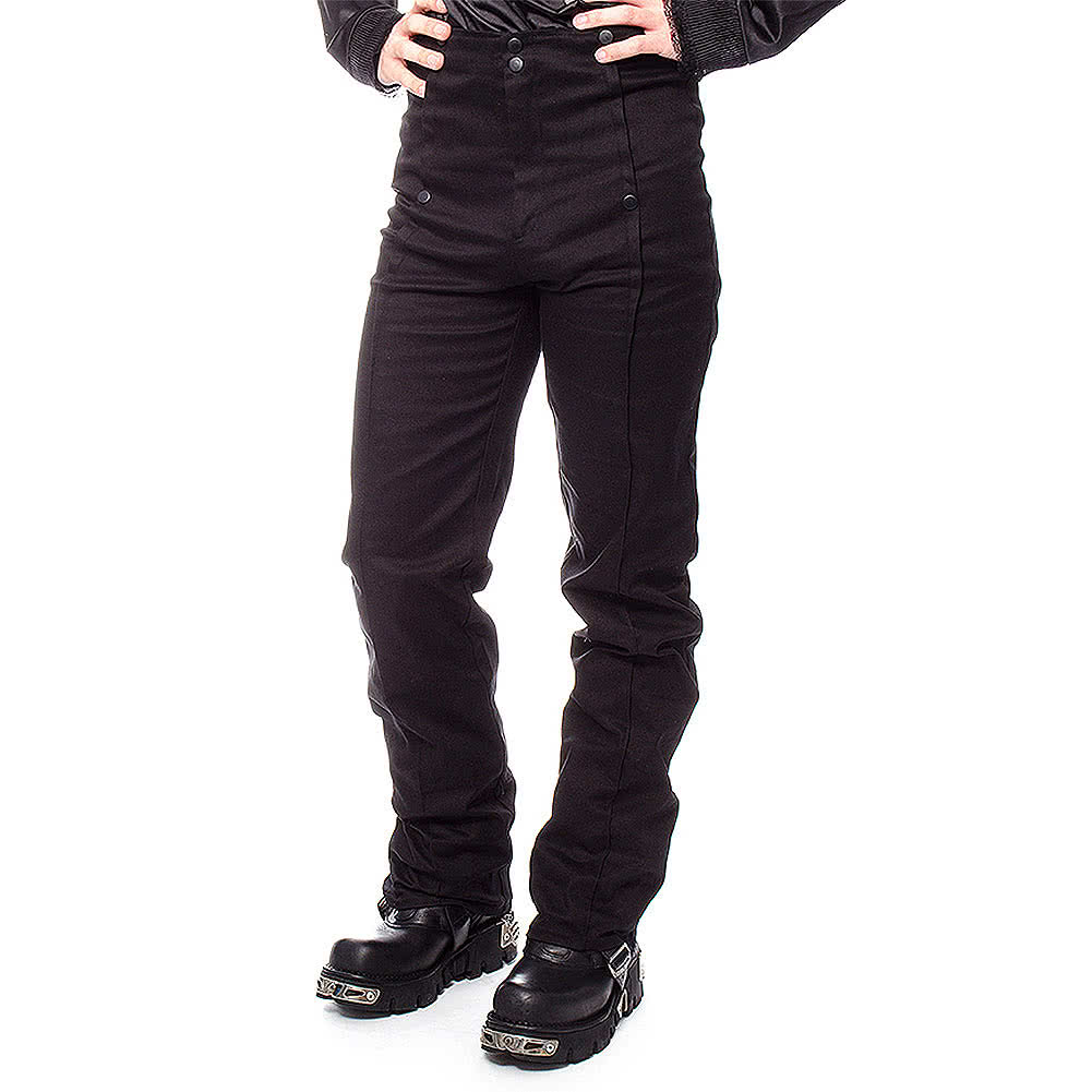 Golden Steampunk Emporium Trousers (Black)