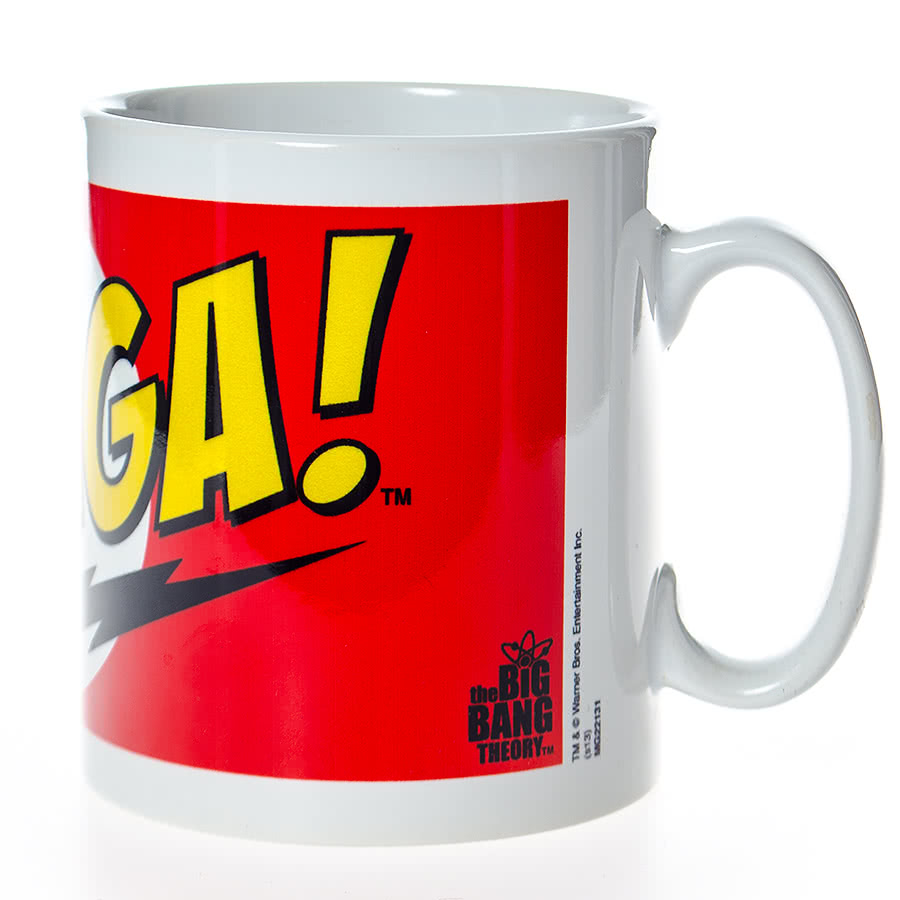 The Big Bang Theory Bazinga Mug (Red)