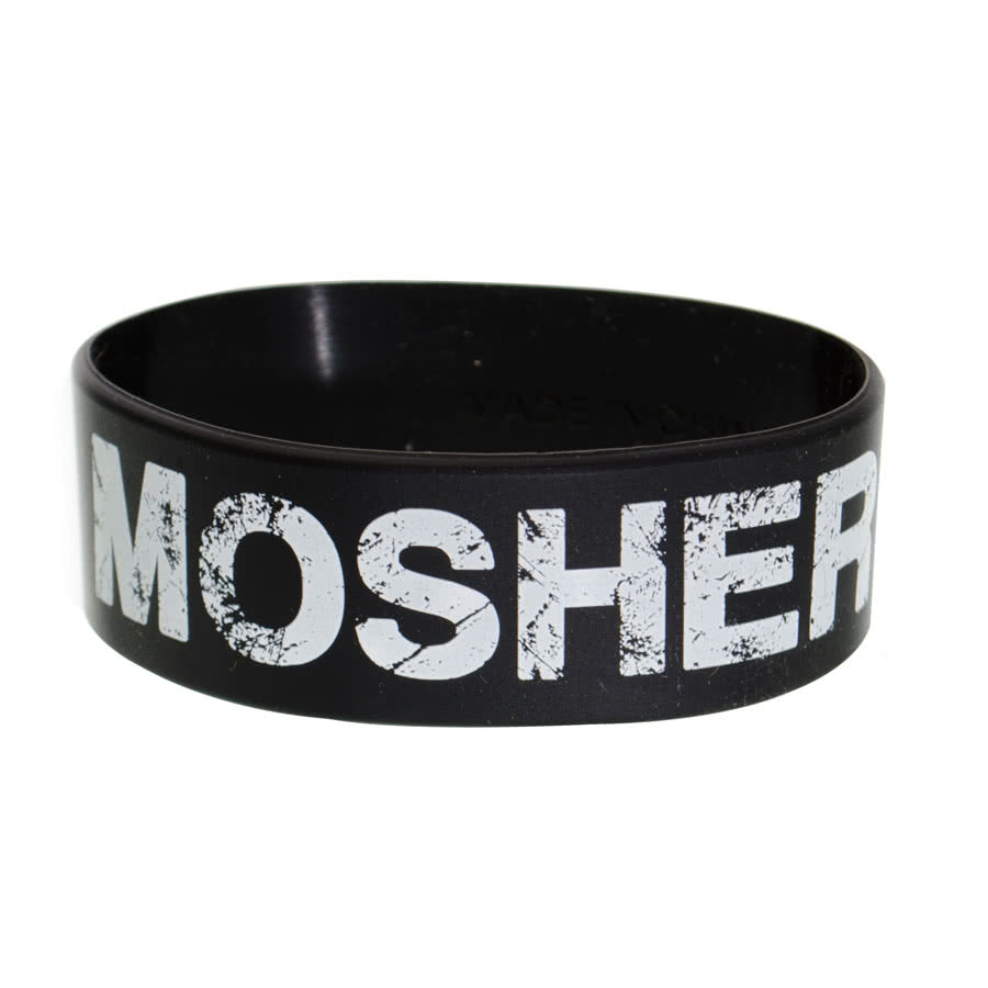 Blue Banana Mosher Wristband (Black)