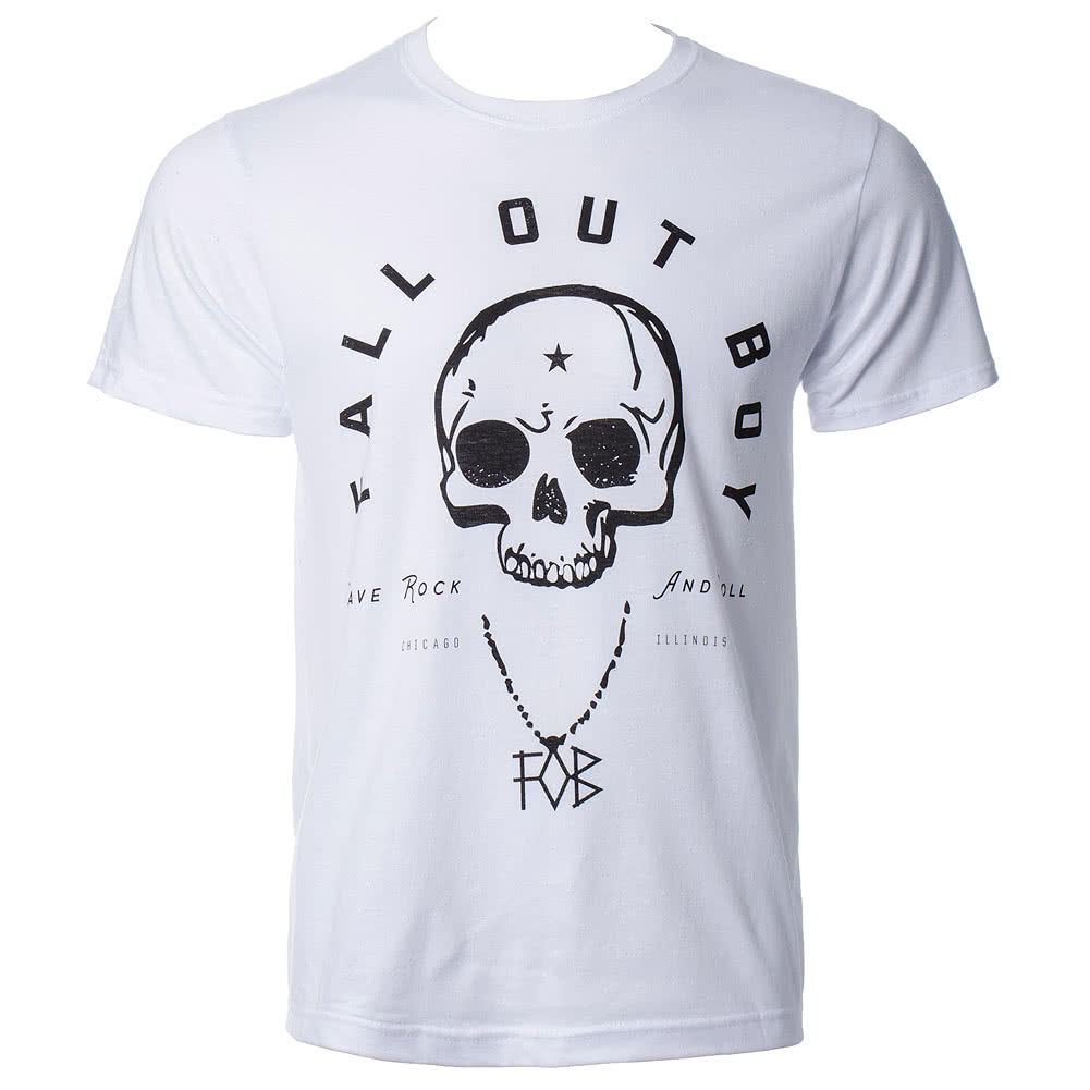 Fall Out Boy Headdress T Shirt (White)
