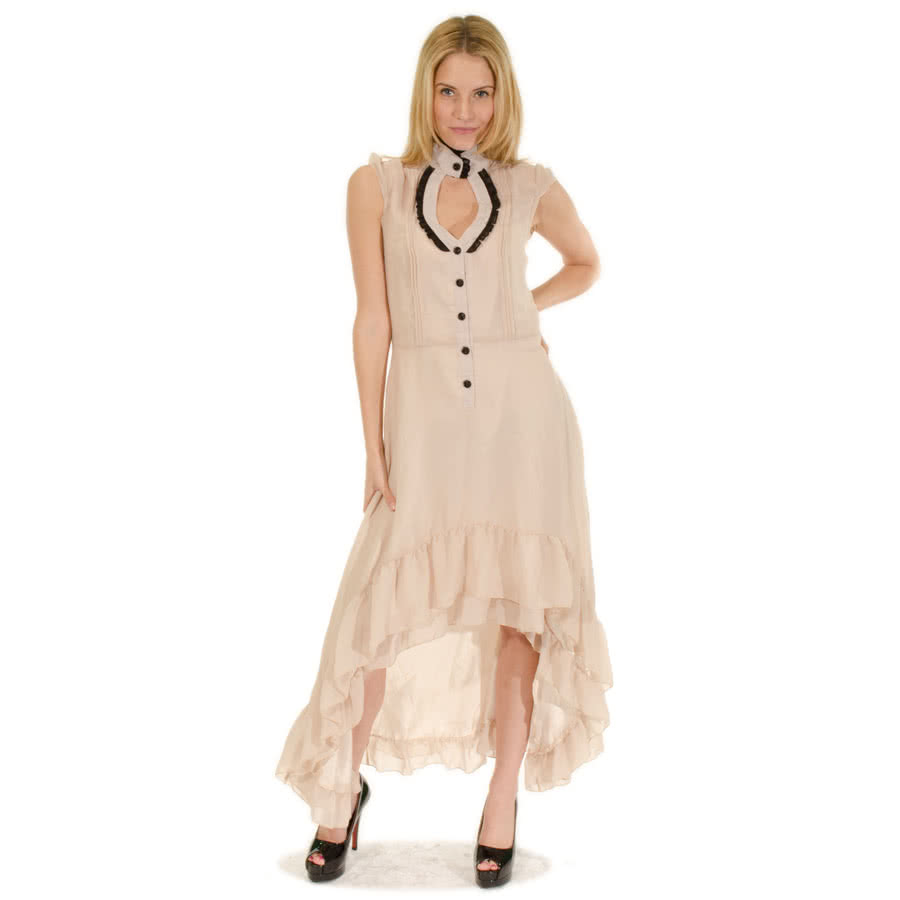 Voodoo Vixen Pearl Dress (Cream)
