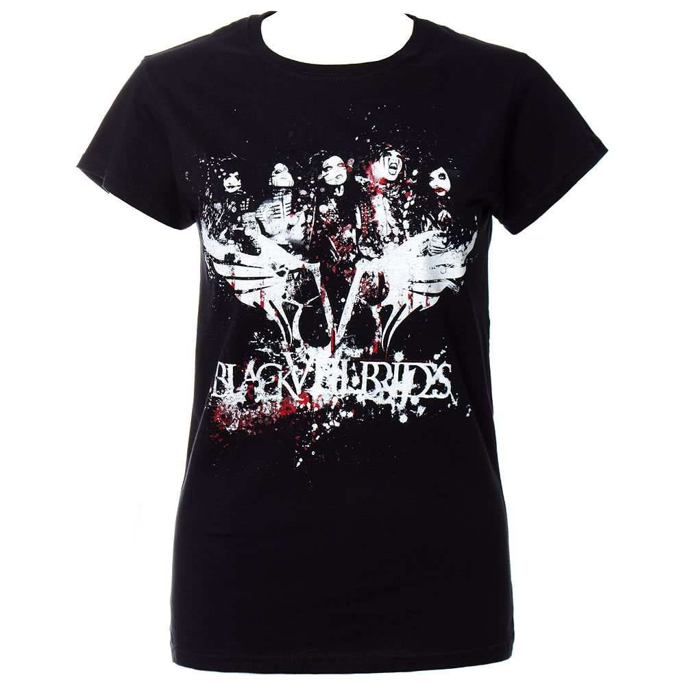 Black Veil Brides Filth Skinny T Shirt (Black)