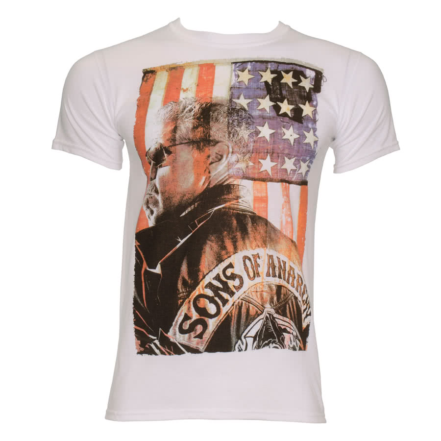 Sons Of Anarchy President T Shirt (White)