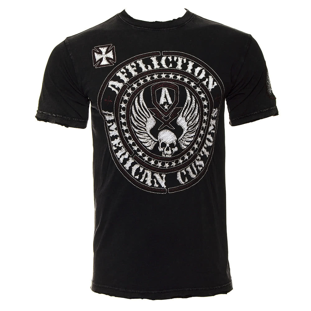 Affliction American Custom Escape T Shirt (Black)