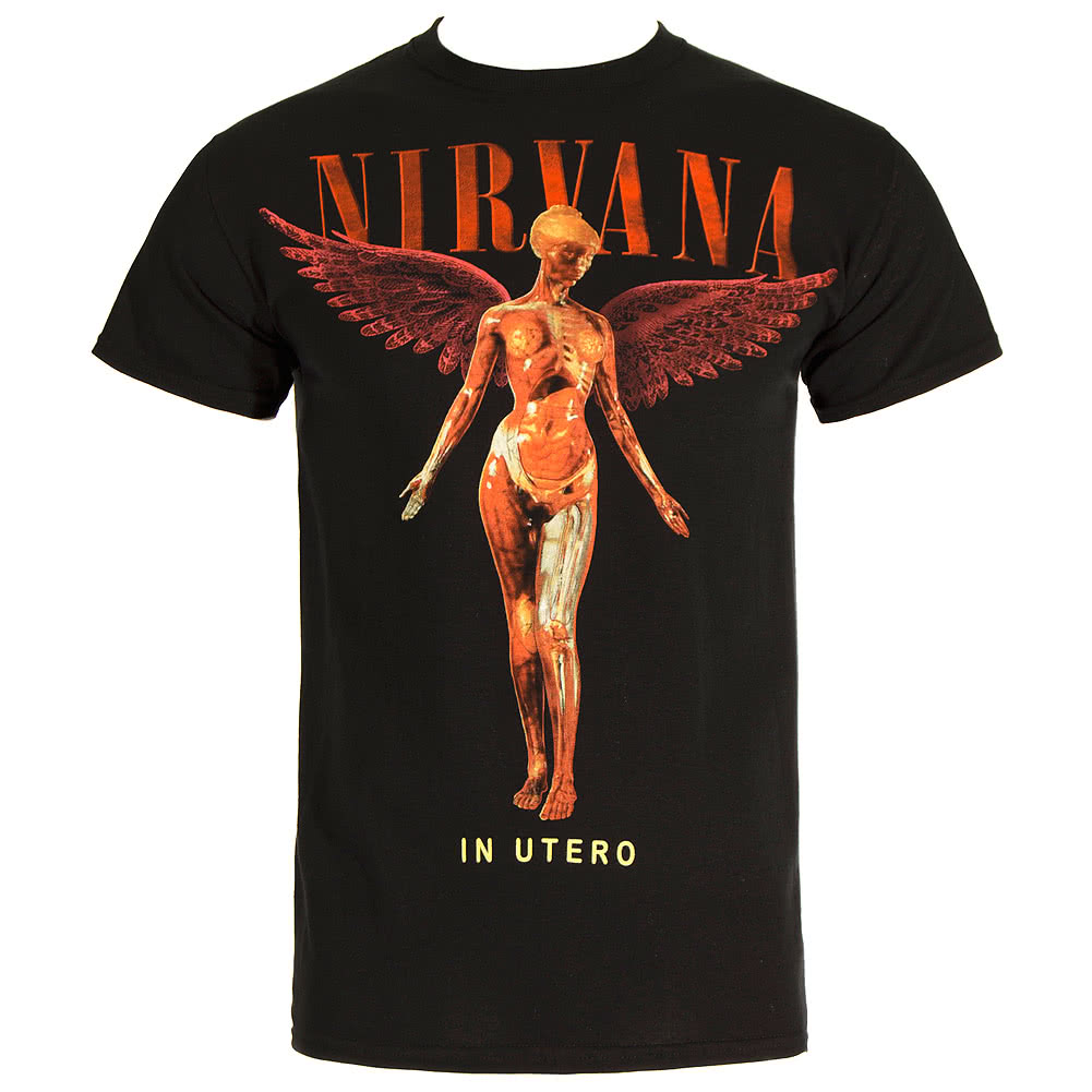 Nirvana In Utero T Shirt (Black)