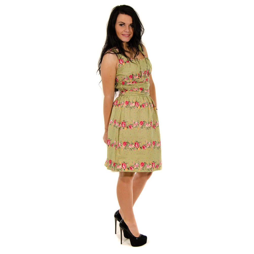 Voodoo Vixen Angie Dress (Green)