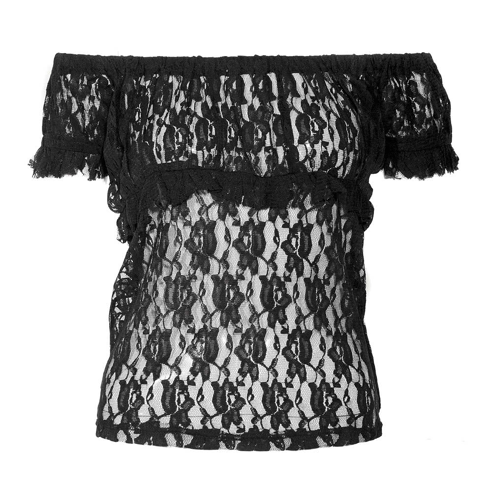 Burleska Gypsy Top (Black)
