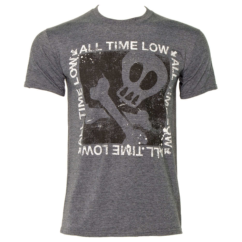 All Time Low Boxed T Shirt (Black)