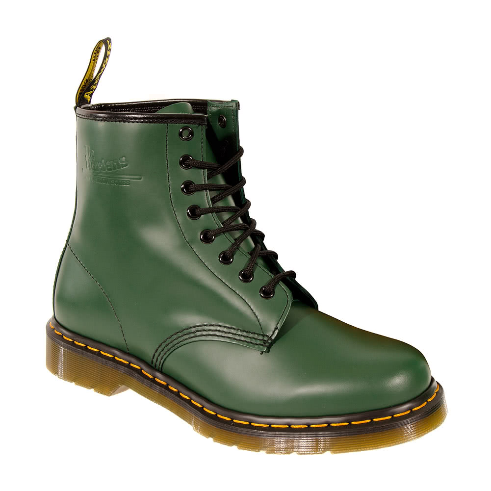 Dr Martens 1460 Boots (Smooth Green)