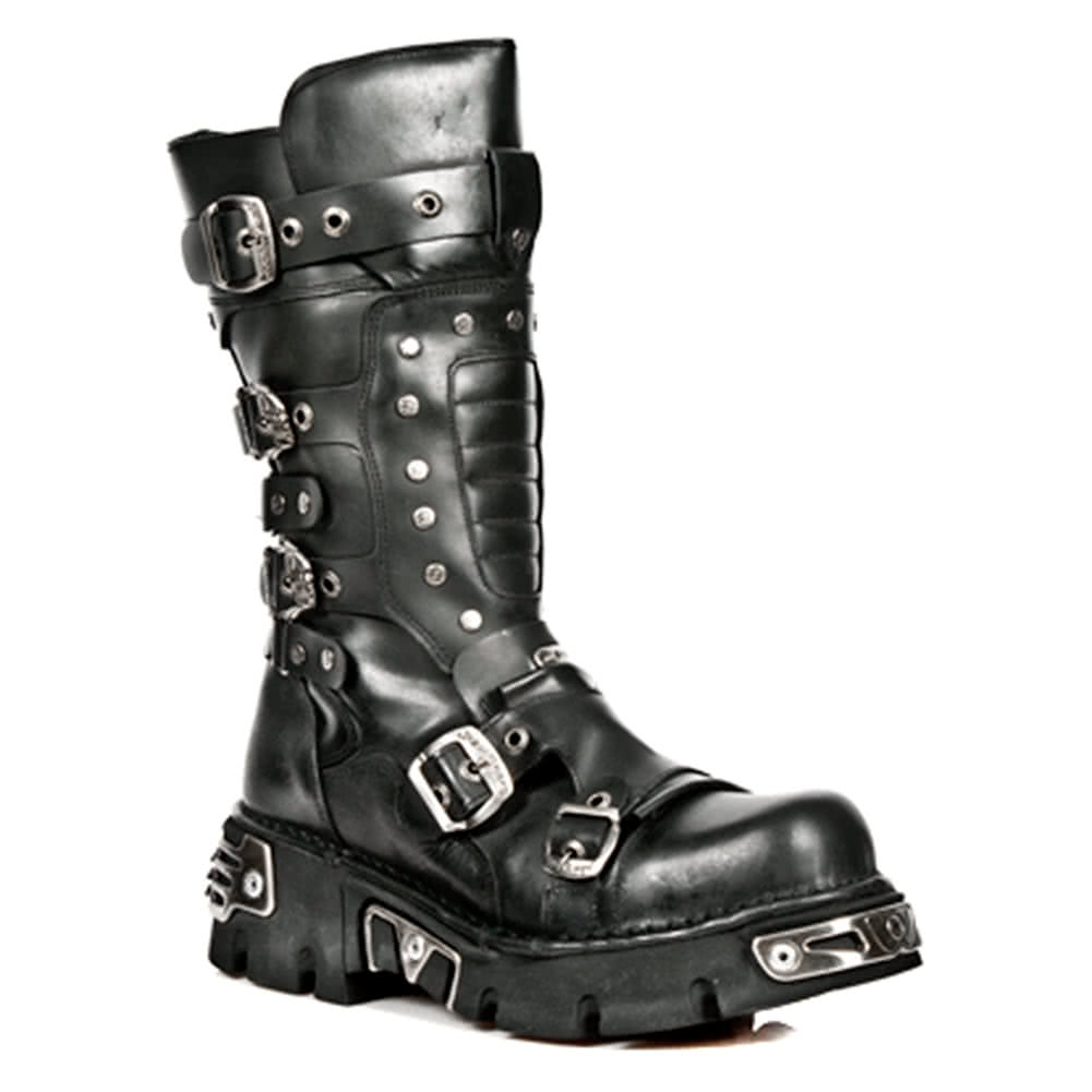New Rock Boots Style M1020-S2 (Black)