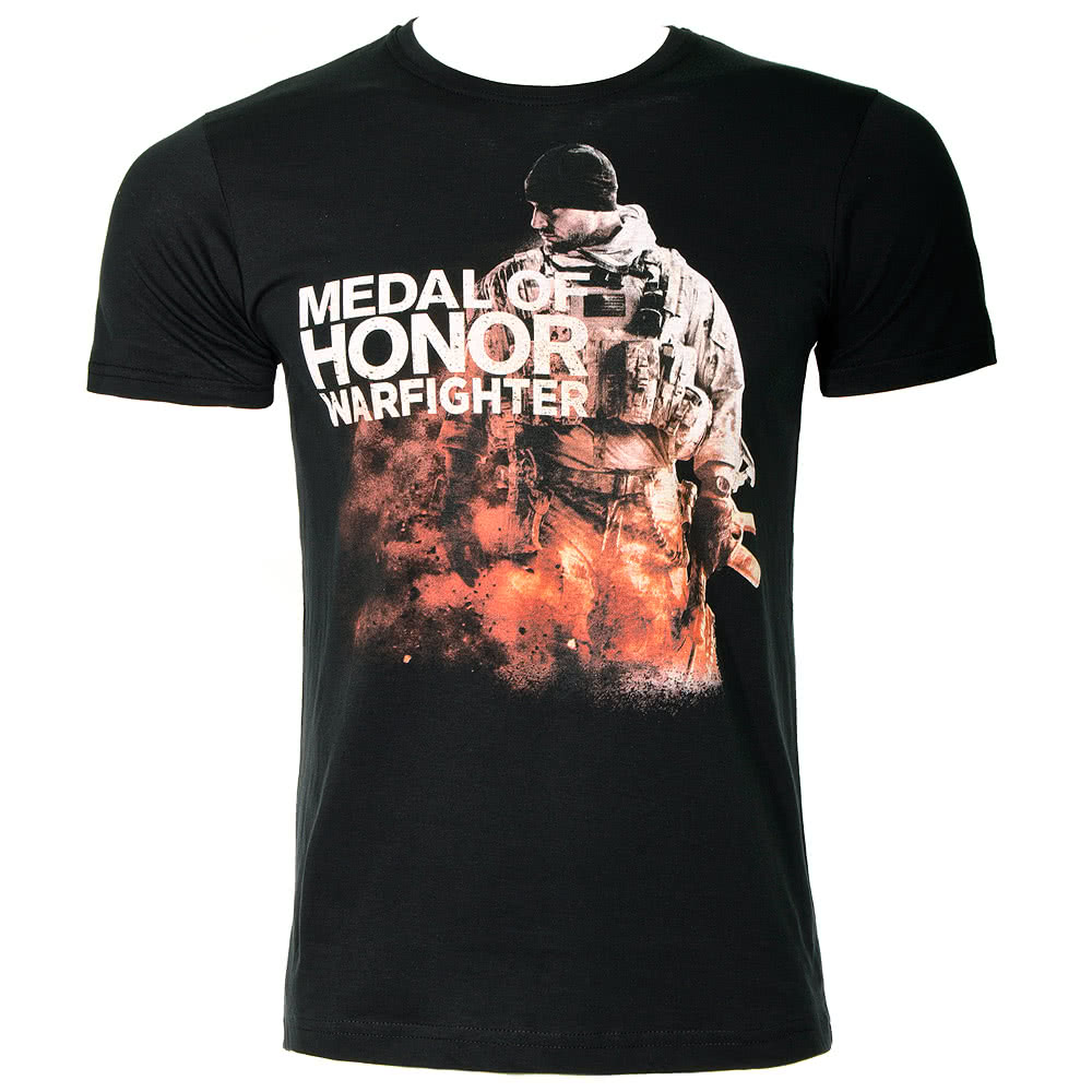 Medal Of Honor Warfighter T Shirt (Black)