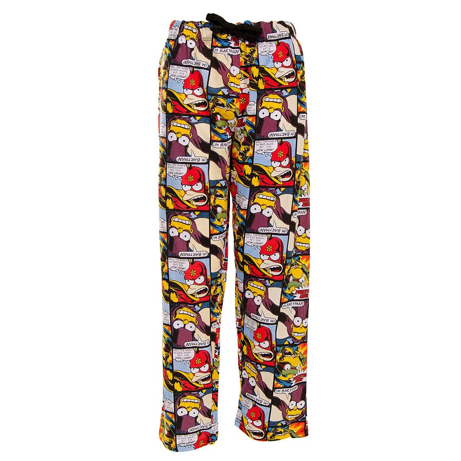 The Simpsons Comic Strip Lounge Pants (Multi-Coloured)