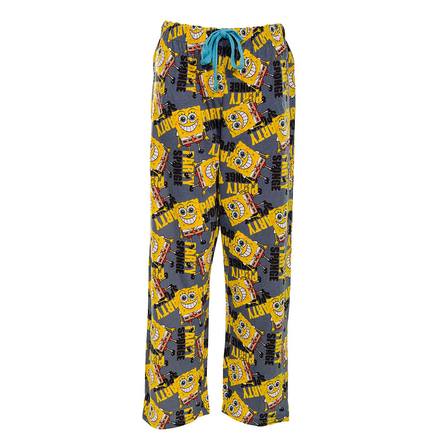 Spongebob Squarepants Party Lounge Pants (Multi-Coloured)