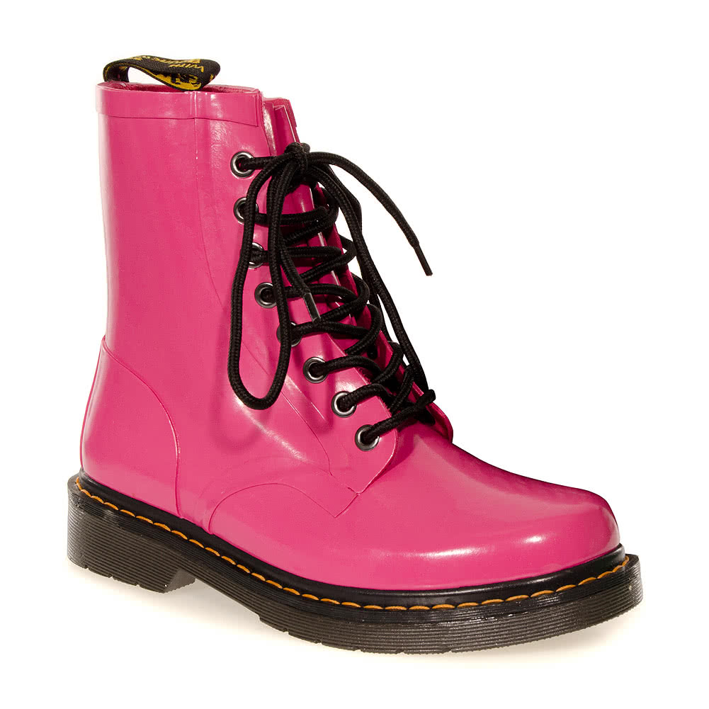 Dr Martens Drench Boot Wellies (Hot Pink)