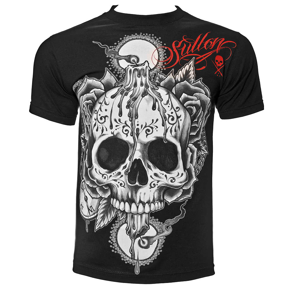 Sullen Burning Both Ends T Shirt (Black)