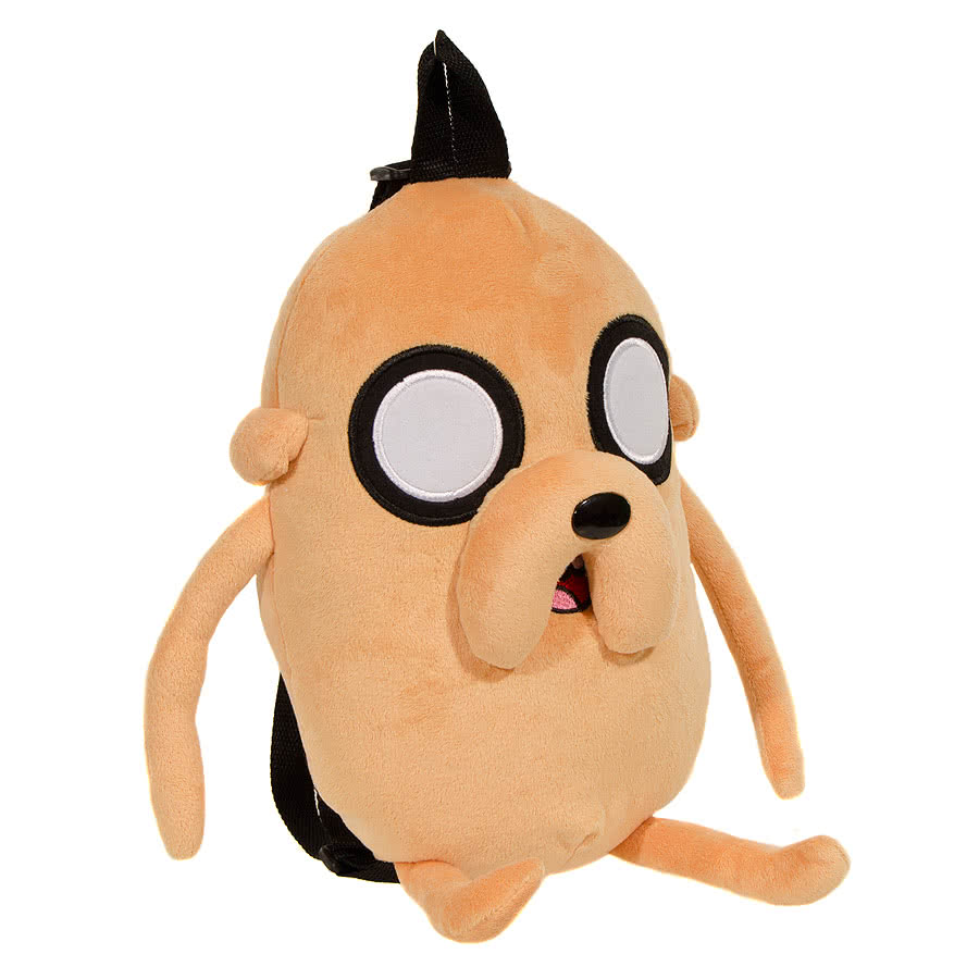 Adventure Time Jake Plush Backpack (Beige)