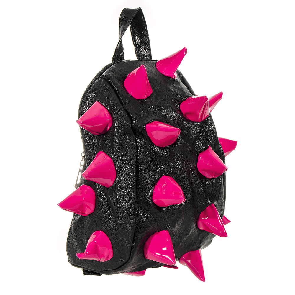 Blue Banana Spikes Backpack (Pink/Black)